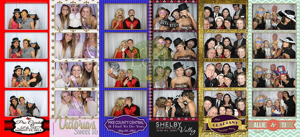 Custom Designed Photo Strips